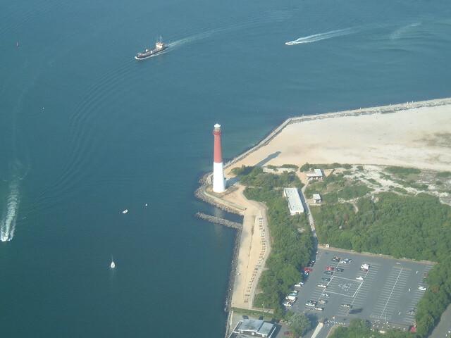 Lighthouse in Barneget NJ image