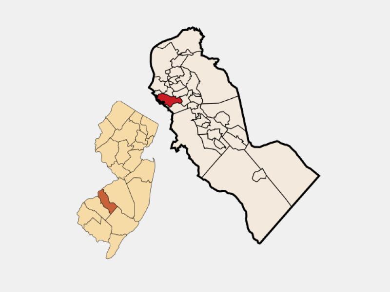 Bellmawr locator map