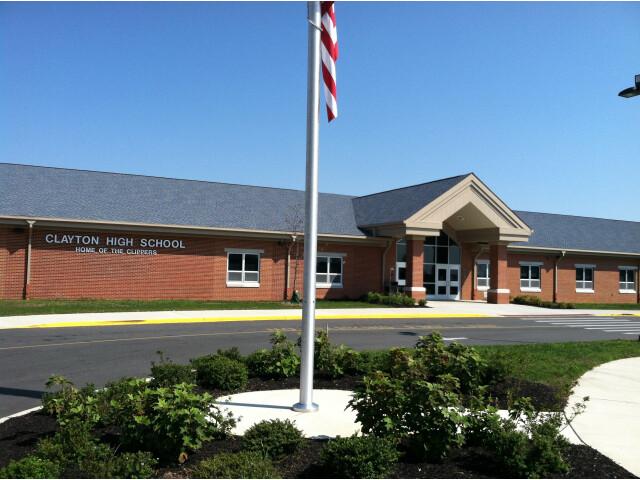 CLAYTON HIGH SCHOOL  CLAYTON  NEW JERSEY image