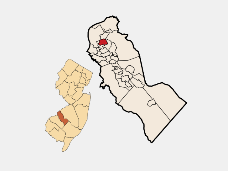 Collingswood locator map