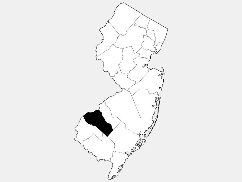 Gloucester County, NJ locator map