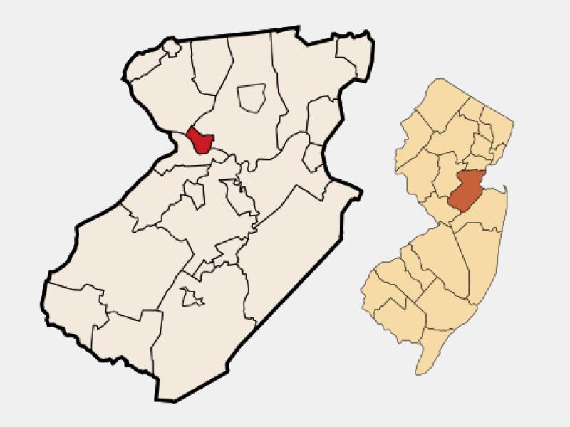 Highland Park locator map