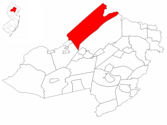 Jefferson location map