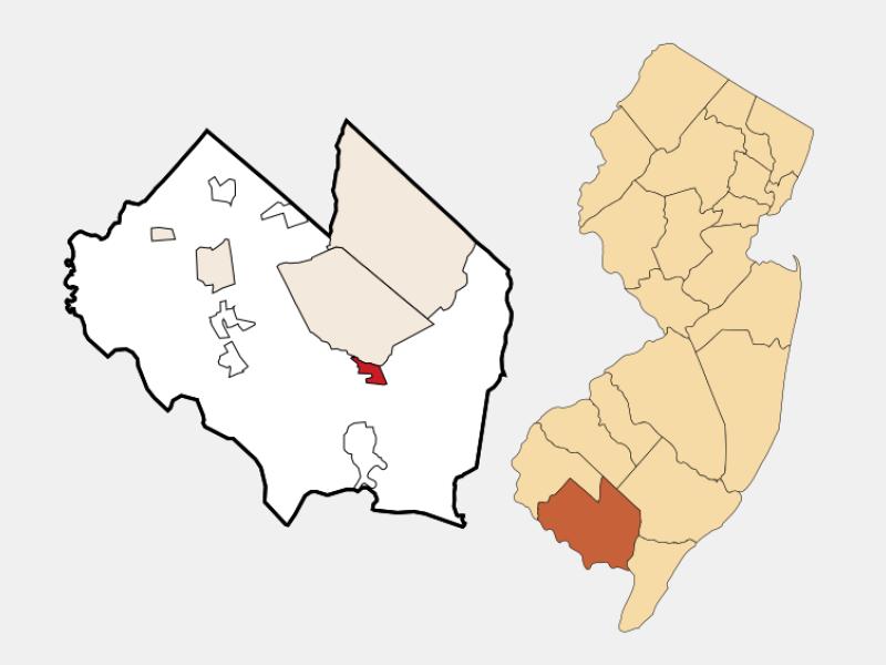 Laurel Lake location map