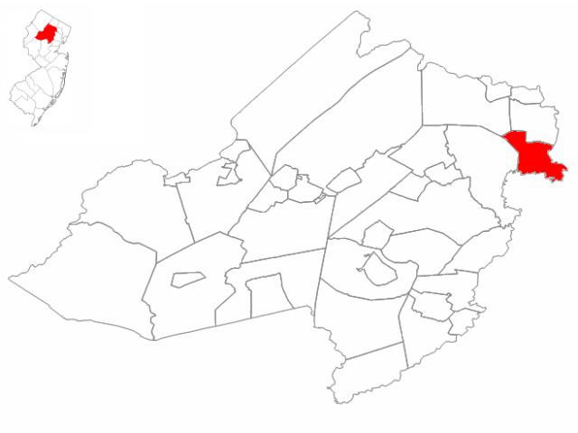 Lincoln Park, NJ locator map