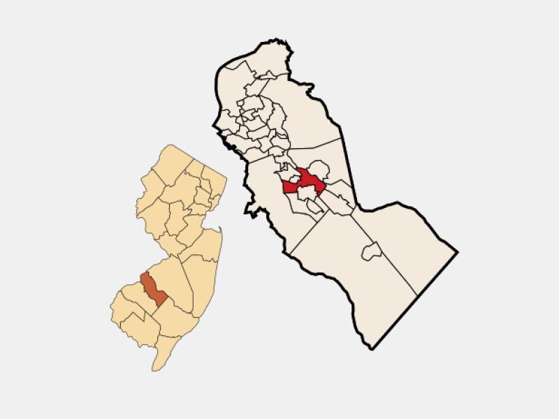 Lindenwold locator map