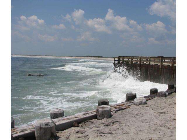 Holgate beach bulkhead image