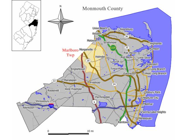 Marlboro locator map