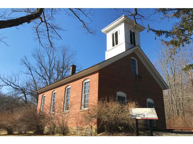 Washington Valley Schoolhouse  Washington Valley  NJ - looking north image