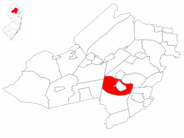 Morris locator map