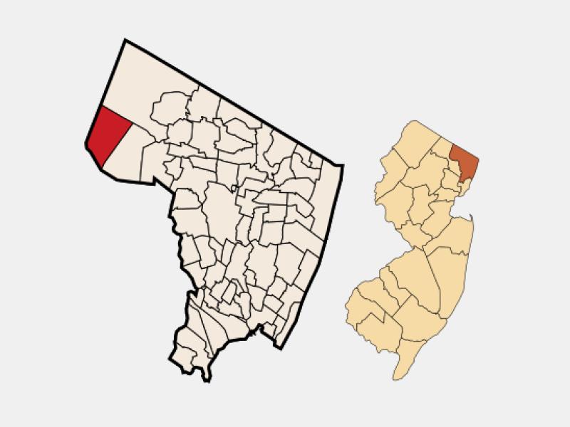 Oakland location map