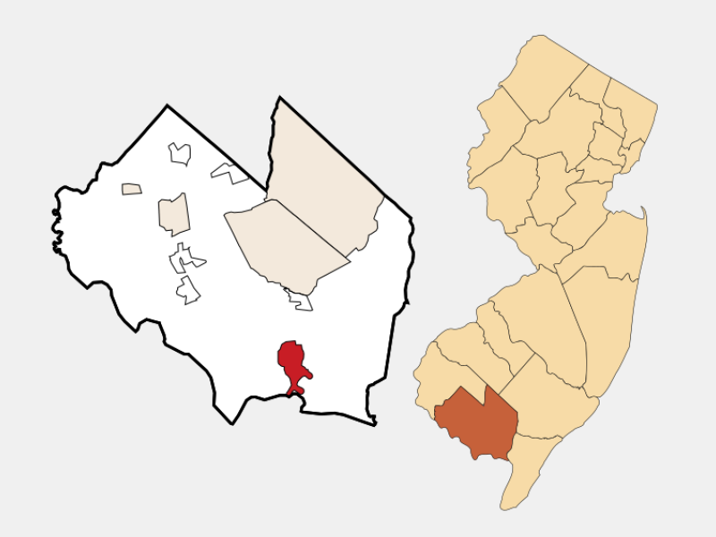 Port Norris locator map