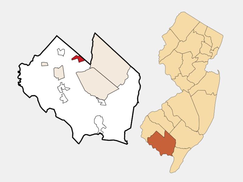 Rosenhayn locator map