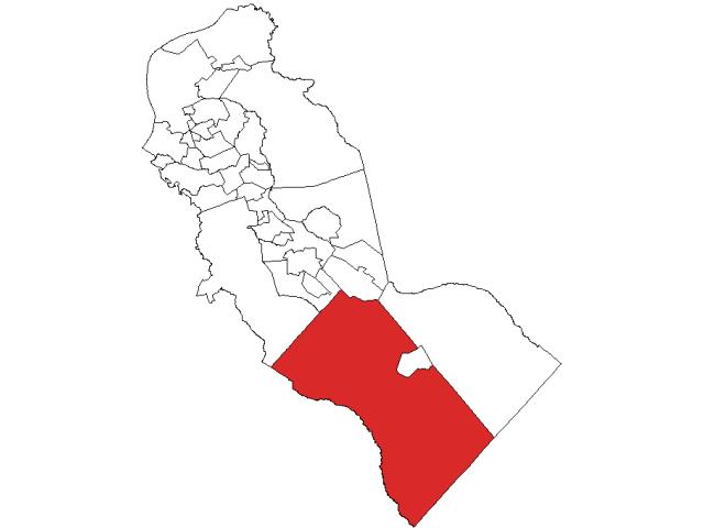 Winslow locator map