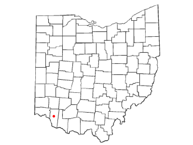 Batavia locator map