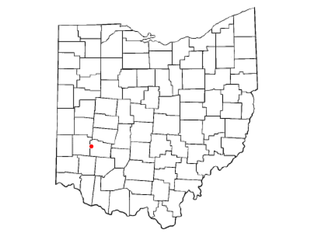 Beavercreek locator map