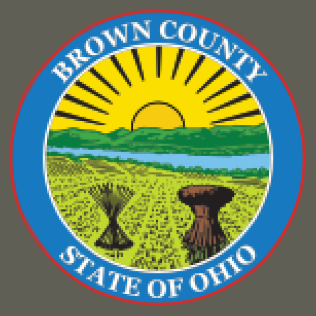 Seal of Brown County Ohio seal image