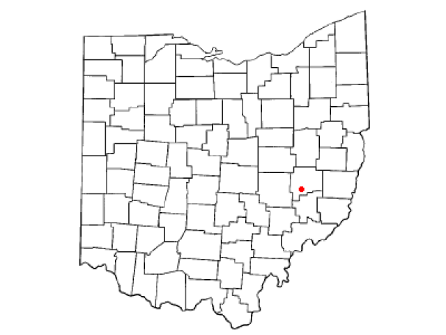 Byesville location map