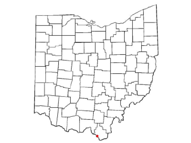 Coal Grove location map