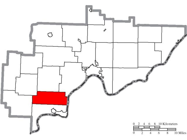 Dunham locator map