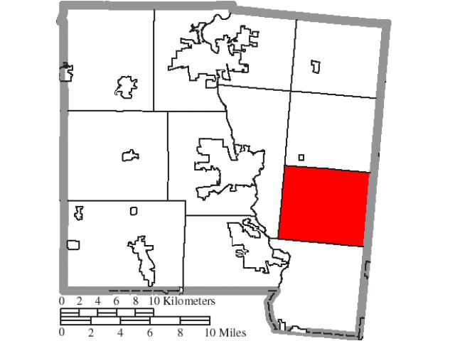 Elizabeth locator map