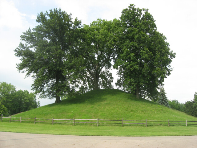 Enon Mound in June image