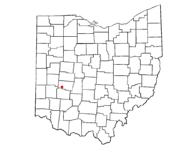Enon locator map