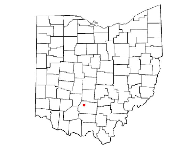 Frankfort locator map