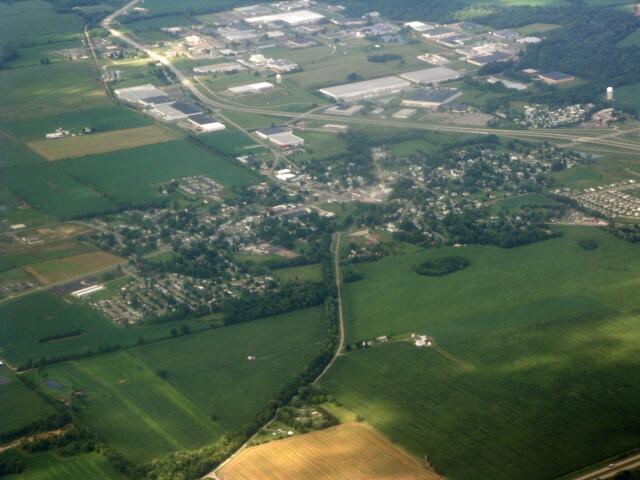 Hebron  Ohio Aerial image
