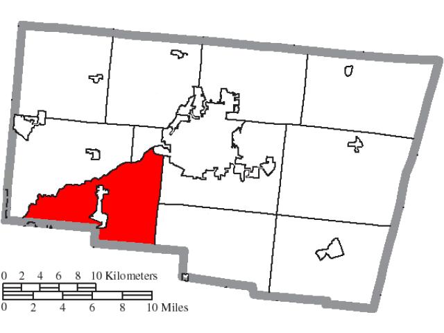 Mad River locator map