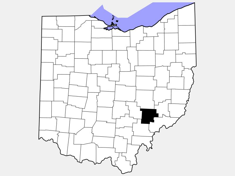 Morgan County location map
