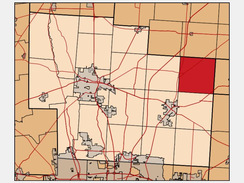 Porter locator map