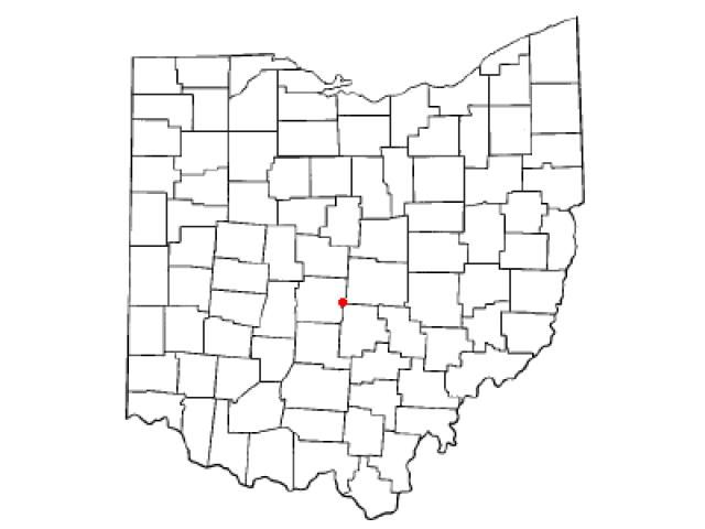 Reynoldsburg location map