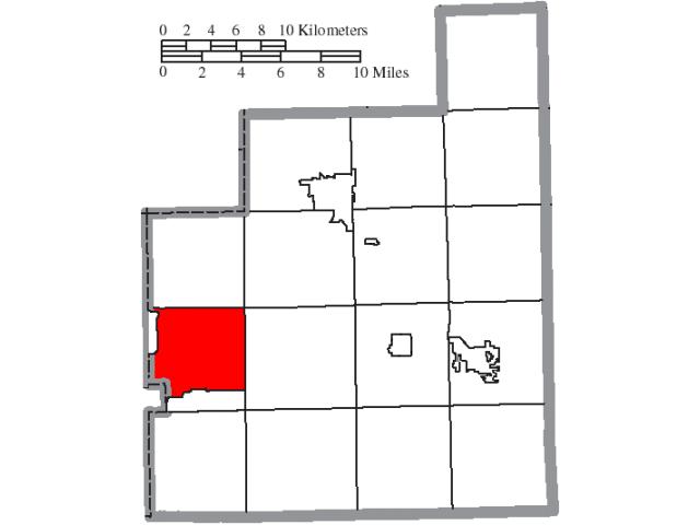 Russell locator map