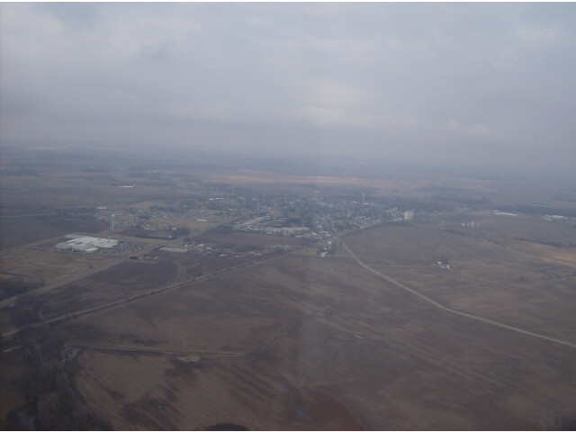 Aerial South Charleston from the south image