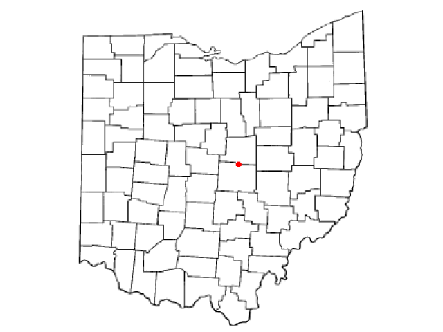 Utica locator map