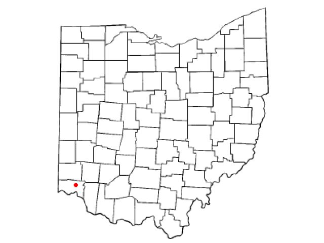 Wyoming locator map