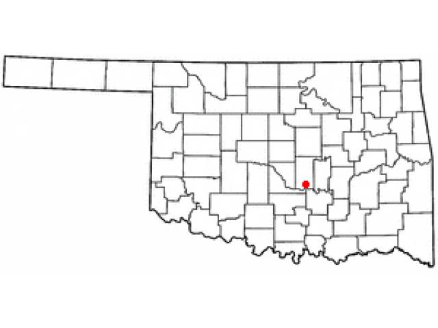 Asher locator map