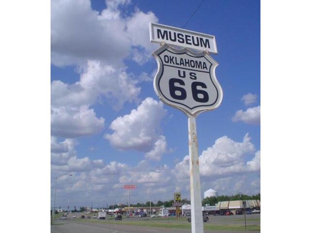Route66MuseumClintonOK image