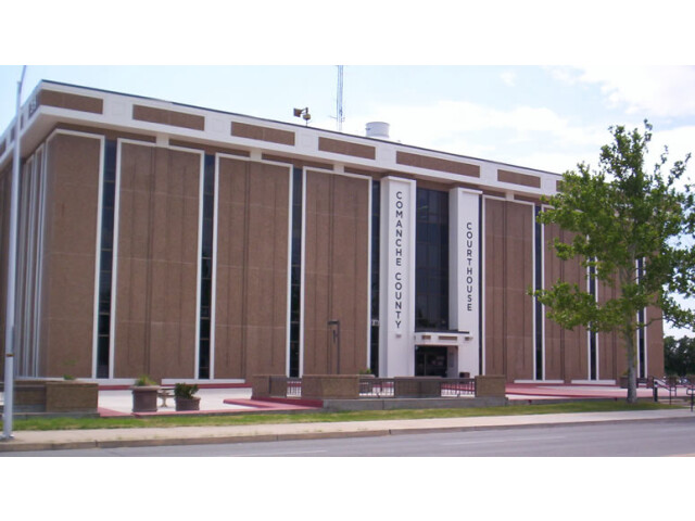 Comanche County Oklahoma courthouse image
