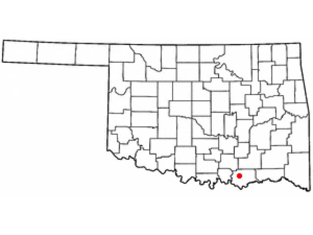 Durant location map