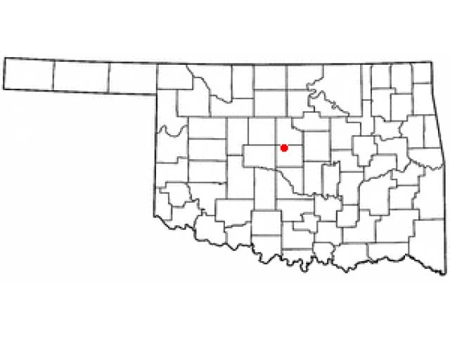 Edmond locator map
