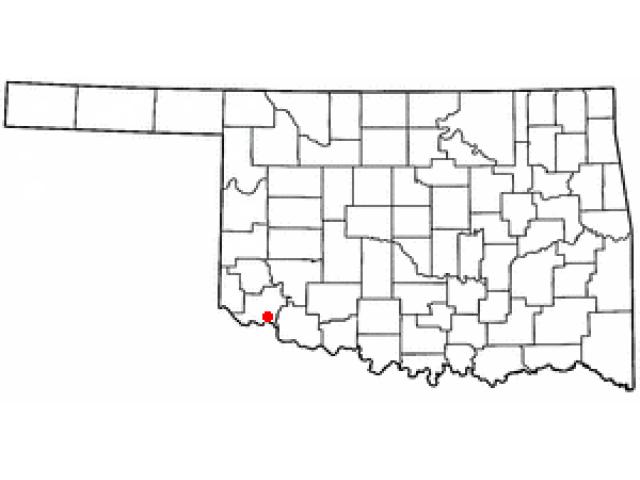Elmer location map
