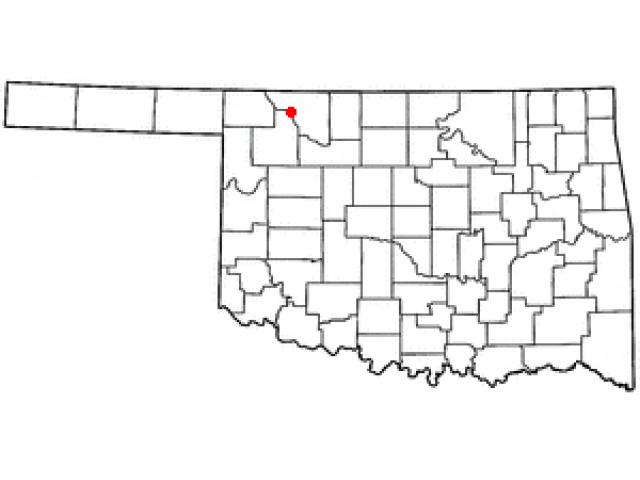 Freedom location map