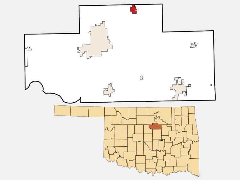 Glencoe location map