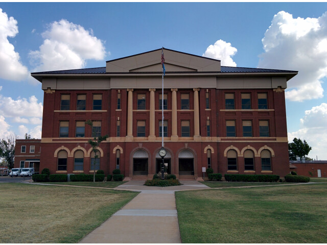 Greer County Courthouse image