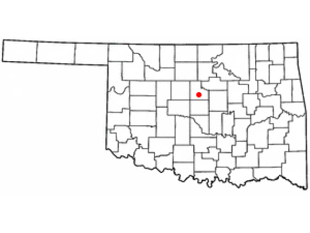 Guthrie locator map