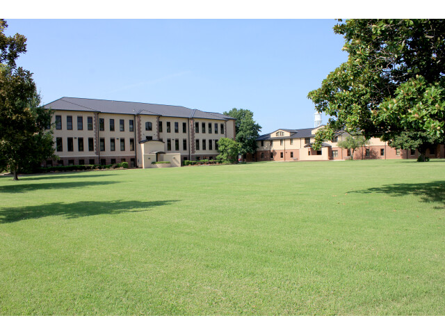 Administration with North Lawn at Murray State College image