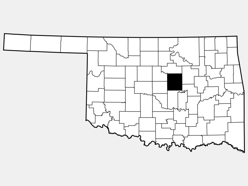 Lincoln County locator map