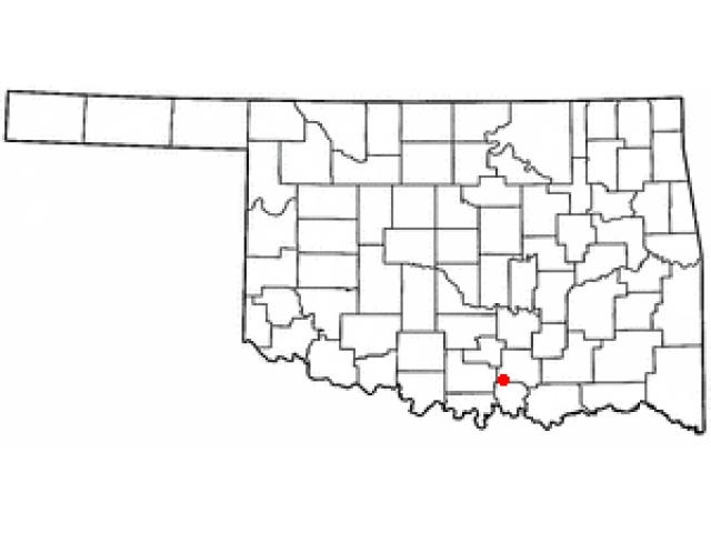 Mannsville location map